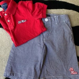 Ole Miss boys outfit